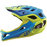 Leatt DBX 3.0 Enduro V1 Bicycle Helmet-Blue/Lime-S