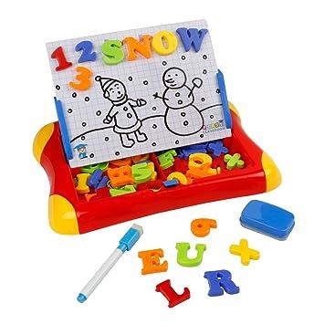 Pizarras Mágicas Juguete de Pizarra Magnetica Tablero de Dibujo Multicolor Pintura Borrable Bricolaje Juego para Niños 3+