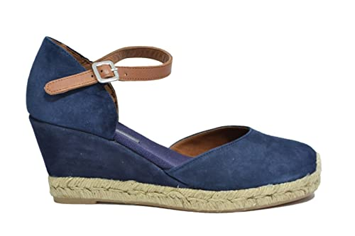 736c8c4951 FRAU Espadrillas Zeppa Blu Scarpe Donna 83C3 40: Amazon.it: Scarpe e ...