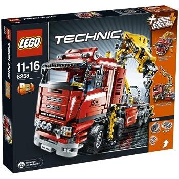 lego technic crane truck 8258 toys games. Black Bedroom Furniture Sets. Home Design Ideas