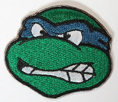 Parche bordado de Leonardo de las Tortugas Ninja: Amazon.es ...