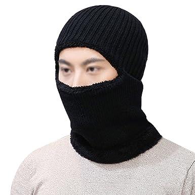 Balaclava Meliya Mens Windproof Ski Face Mask Winter Hats Warm Wool