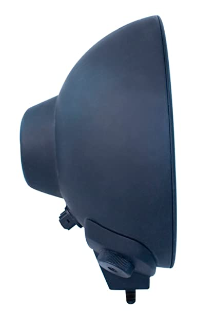 amazon com: hella h12560031 rallye 4000 series 12-volt/100-watt black euro  beam halogen lamp with position lamp: automotive