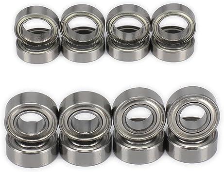 8Pcs 8x12x3.5mm Bearings for Wltoys A959-B A979-B A959 K929-B Four-Wheel Car