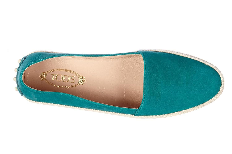 Slip on femme en daim sneakers gommino pantofola giada Tod's imN3Kk7l