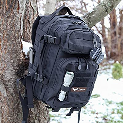 AFTER CHRISTMAS SALE Garud Military Style Tactical Backpack for Hiking, Camping, Trekking & Hunting