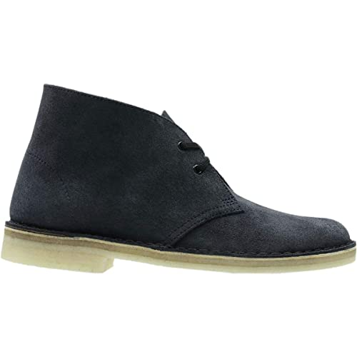 4db4be0f5a8707 CLARKS Women's Desert Boot Ink Suede 8.5 B US: Amazon.co.uk: Shoes & Bags