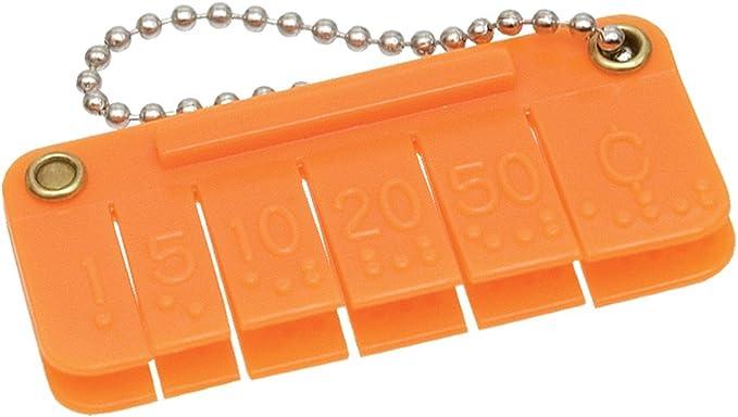Click Pocket Money Brailler - Gift for Blind People