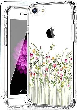 Negro Clasico //iPhone 7//iPhone 8 4.7 Funda iPhone 8 y Funda iPhone 7 Carcasa Serie Anti Ca/ídas Case Protectora Compatible para iPhone SE 2020 YATWIN Funda Compatible para iPhone SE 2020