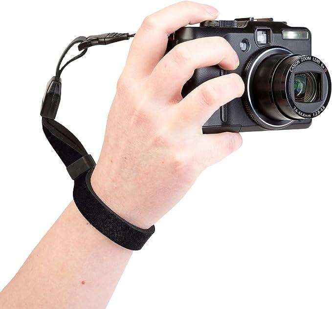 Vintage Black OpTech Camera Strap
