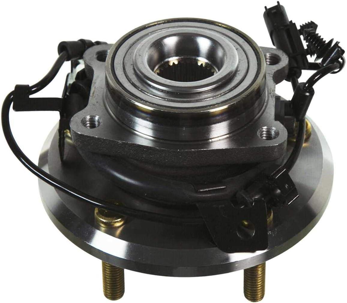 Auto Shack HB612480PR Rear Wheel Hub Assembly Pair