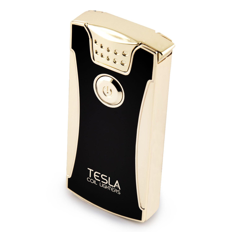 Tesla Coil LightersTM USB Rechargeable Windproof Dual Arc Lighter by Tesla Coil Lighters