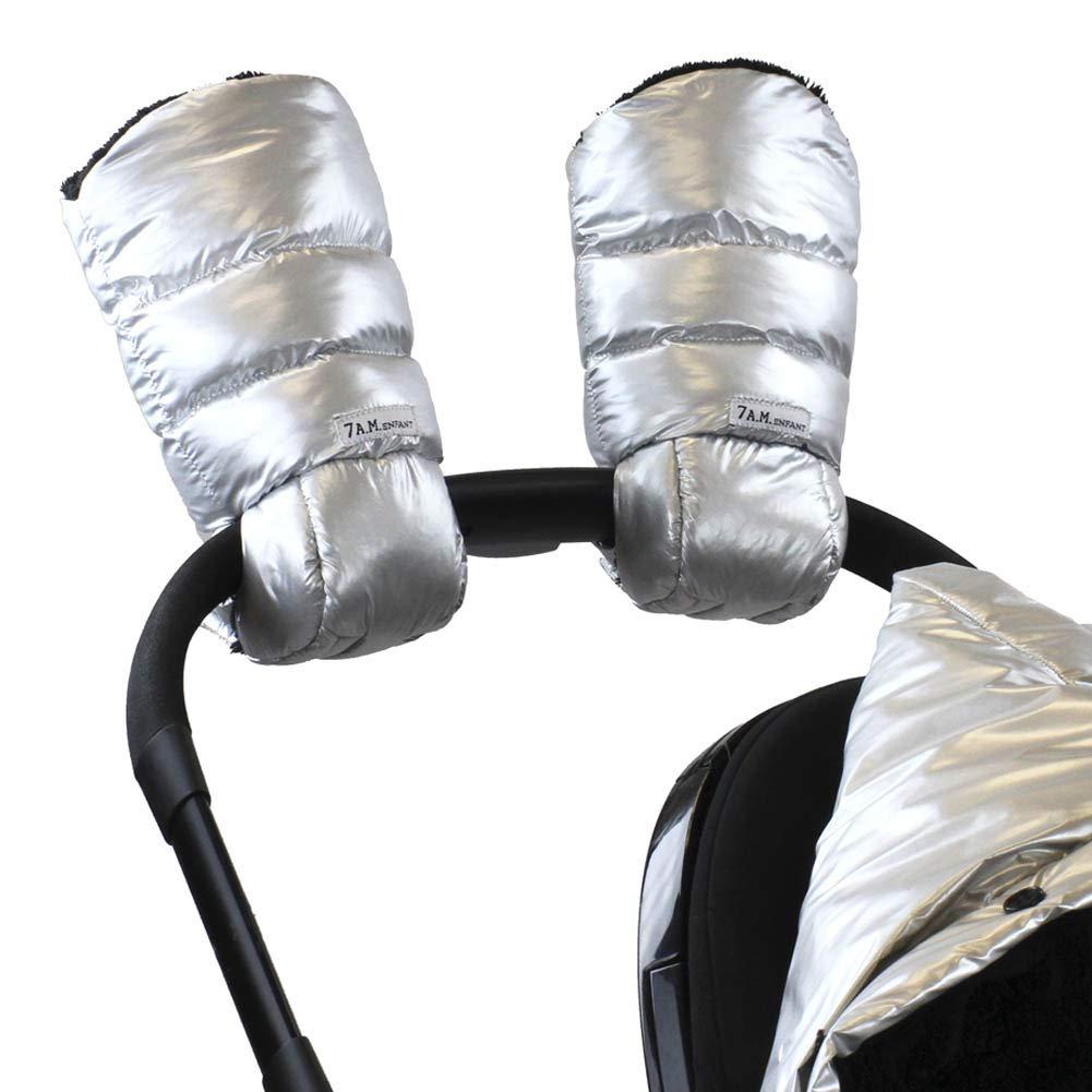 7 A.M. Enfant Warmmuffs Stroller Gloves with Universal Fit (Glacier)