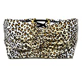 Victoria's Secret Swimsuit Animal Print Bikini Top (34C, Leopard)