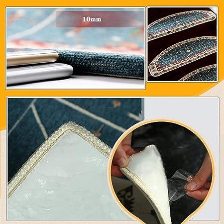 Alfombras de escalera Alfombra de escalera reforzada Frontera autoadhesivo último la fuerza de agarre 5 PC de Paso de la alfombra antideslizante Adhesivo estera / manta de huella de peldaño, múltiples: Amazon.es: