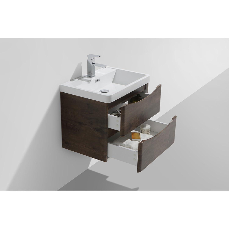 amazon com morenobath smile 24 in wall mounted single sink