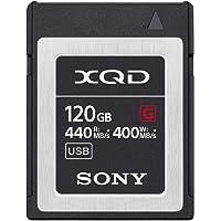 Sony QDG120F XQD Flashminneskort, 120 GB, Svart/Silver