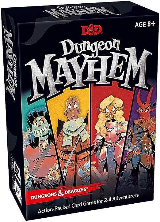 ICVDSRG Dungeon Mayhem Juego De Mesa Juego De Cartas (VersióN En IngléS): Amazon.es: Hogar