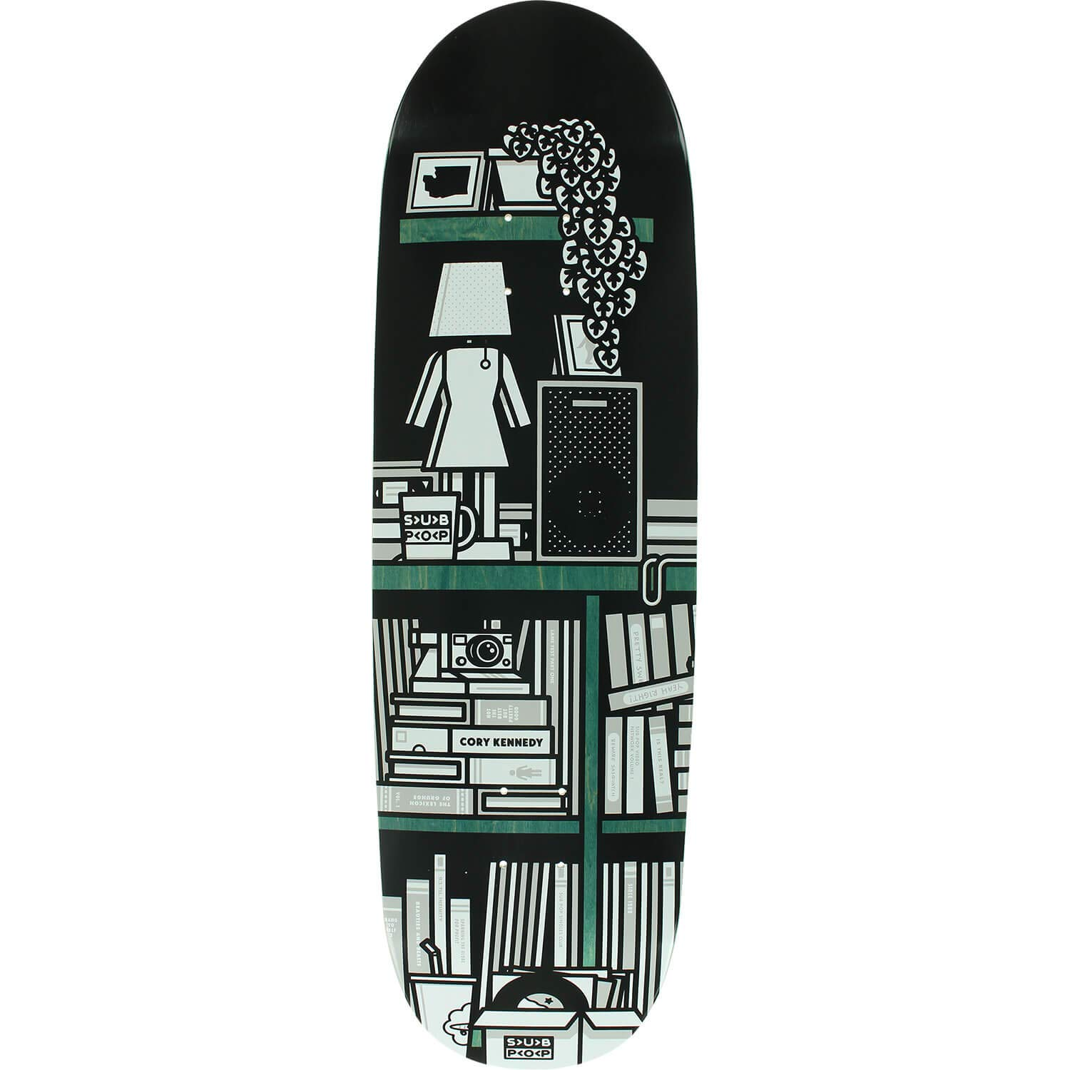 3eadcf2519c Amazon.com   Girl Skateboards Cory Kennedy Sub Pop Skateboard Deck - 9.25