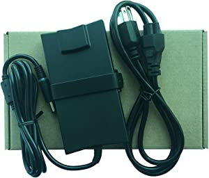 Genuine PA-2E Laptop AC Adapter 19.5V 3.34A 65W Family Charger for Dell Latitude D520,D530,D531,D620,D630,D630 XFR,D631,E4200,E4300,E4310,E5400 Power Supply Slim
