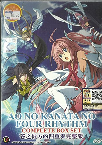 AO NO KANATA NO FOUR RHYTHM - COMPLETE TV SERIES DVD BOX SET ( 1-12 EPISODES )