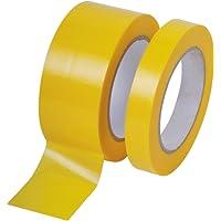 Profi PVC Putzband 33m glatt 30mm gelb Bautenschutzband Schutzband Klebeband