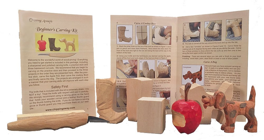 Beginner Wood Carving Kit Chipping Away Inc