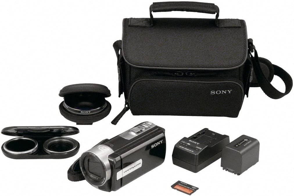 Black Sony LCS-U30 Soft Carrying Case for Camcorder