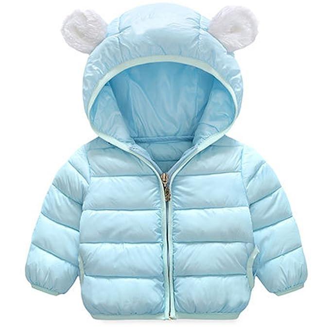 ARAUS Abrigo Bebé Chaqueta Invierno con Capucha Niñas Niños ...