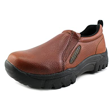 ROPER Men s Performance Slip-On Casual Shoes Wide Brown 7 EE US 5b95aab60f7