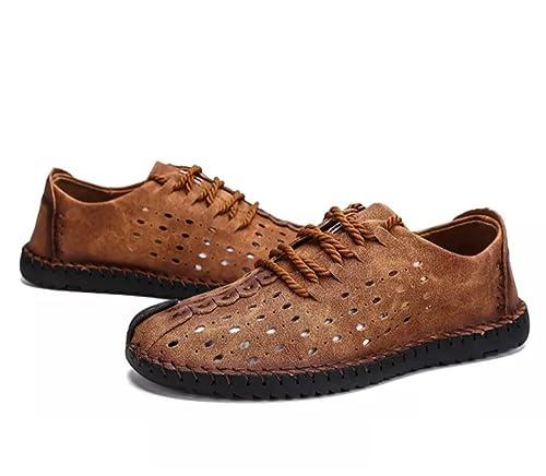 Hombres Sandalias Deportivas Zapatillas Verano Pescador Playa Casuales Zapatos Senderismo Cuero Transpirable Trekking: Amazon.es: Zapatos y complementos