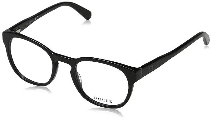 Amazon.com: anteojos Guess GU 1907 001 negro brillante: Clothing