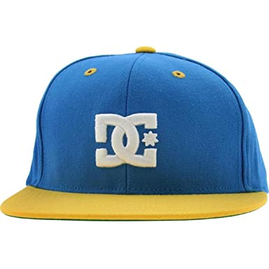 Amazon.com  DC Back To It Starter Snapback Cap (blue   yellow)  Clothing ea65d991ad1
