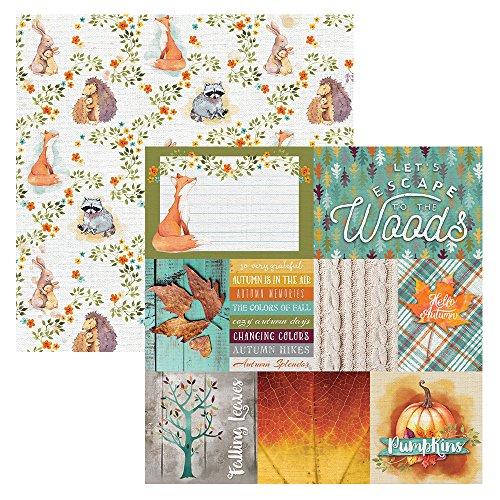 Friends Scrapbook Paper - Paper House Productions P-2116E 12