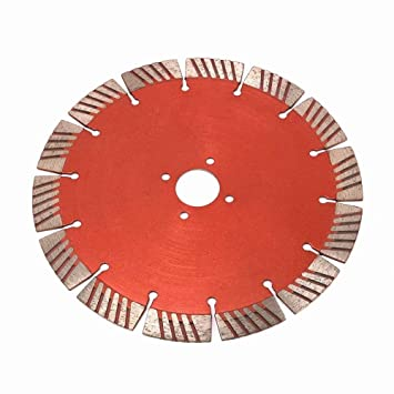 "7.5 Inch 190mm Diamond Circular Wet or Dry Saw Blade witn 1""Bore Segmented Turbo"