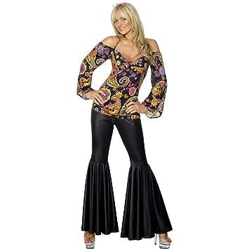 Hippie Costume, Female (disfraz): Smiffys: Amazon.es: Juguetes y ...