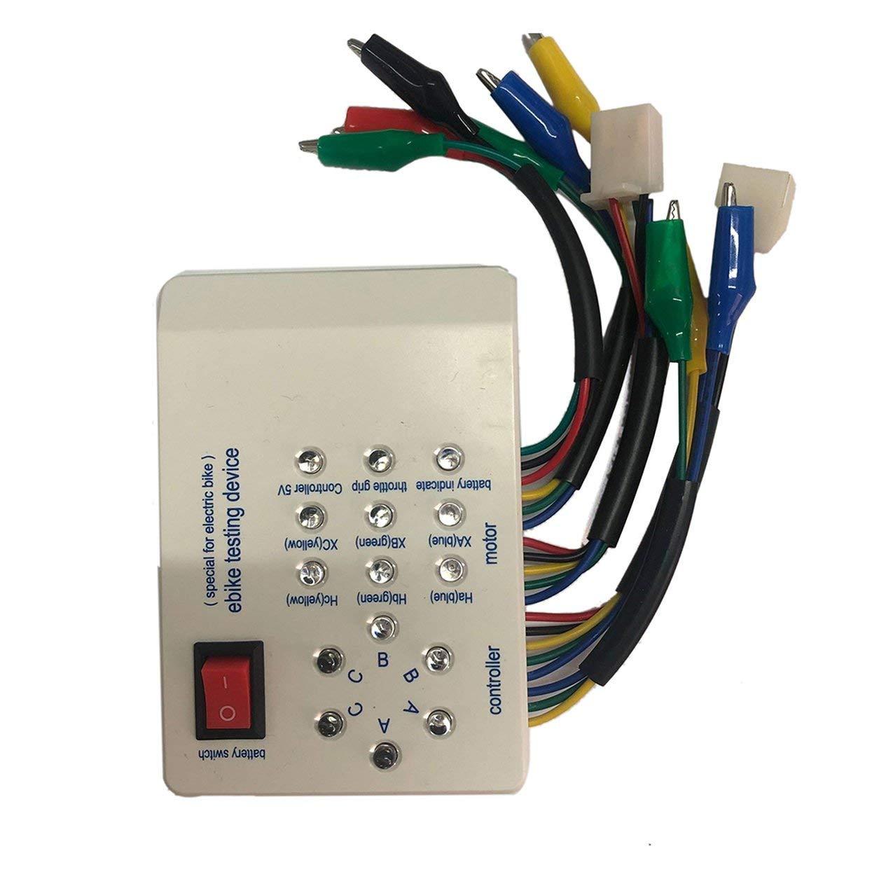 Controller Brushless Motor Tester For Car Scooter 10.5*7.5mm 24V//36V//48V//60V//72V