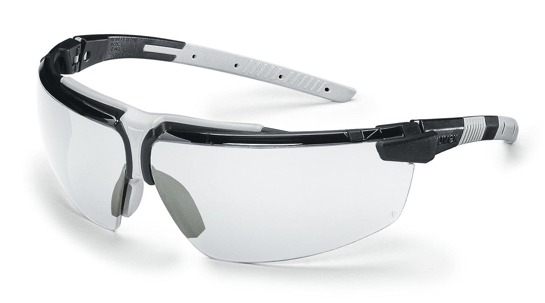 Uvex Schutzbrille i-3 klar, beschlagfrei, kratzfest, UV-Schutz, SOFTFLEX Einsä tze fü r perfekte ergonomische Passform UVEX ARBEITSSCHUTZ GMBH 9190280