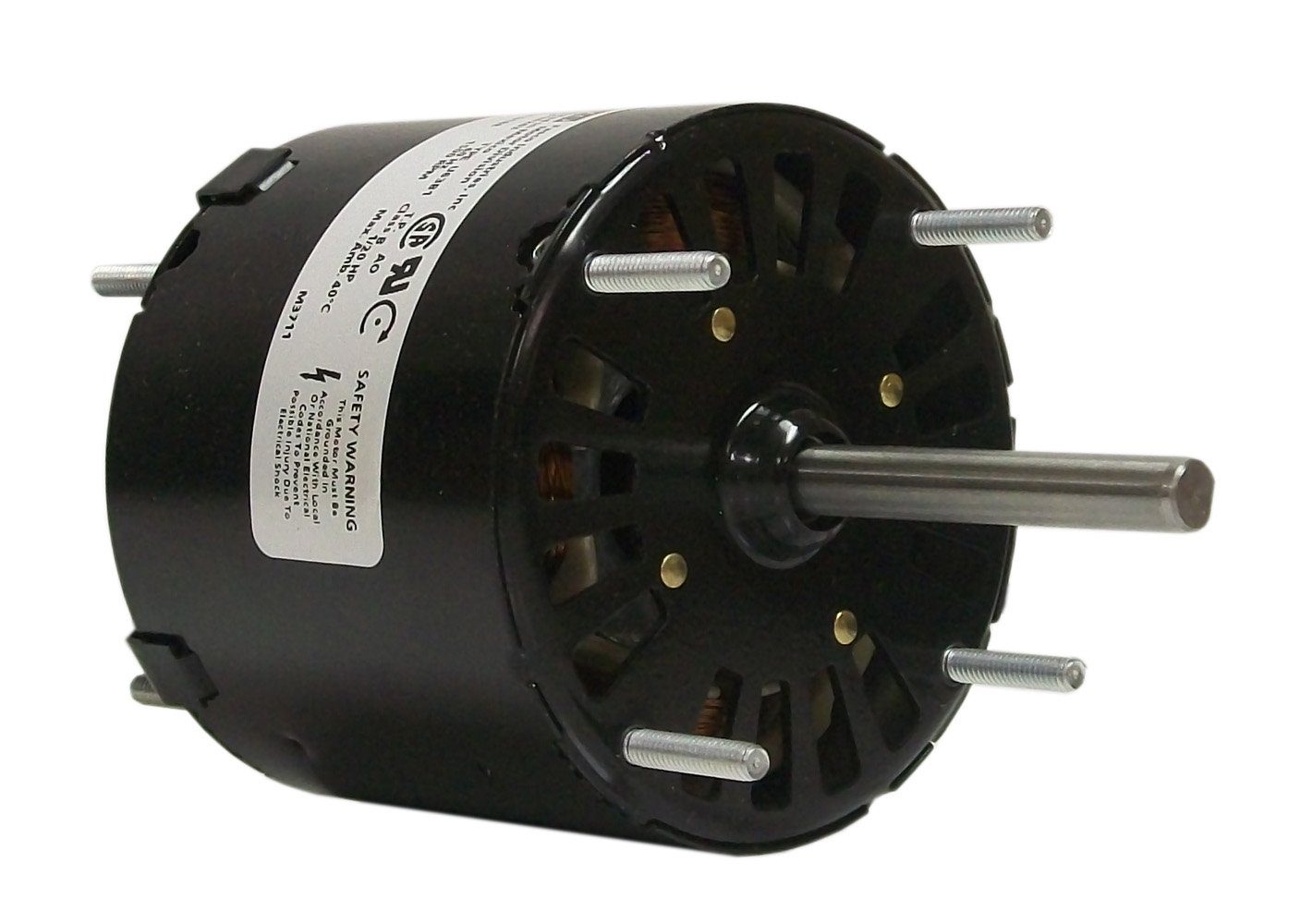 Fasco D133 3.3-Inch General Purpose Motor, 1/20 HP, 115 Volts, 1500 RPM, 1 Speed, 1.8 Amps, OAO Enclosure, CCWSE Rotation, Sleeve Bearing