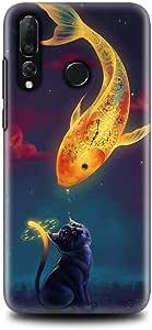 كفر هواوي نوفا 4 - فن - السمكة و القطة - فن