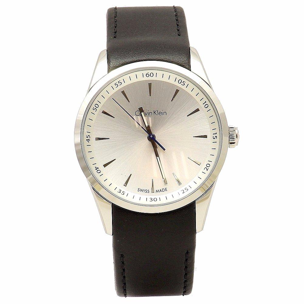 f8f0816cb Amazon.com: Calvin Klein Bold Men's Quartz Watch K5A311C6: Watches