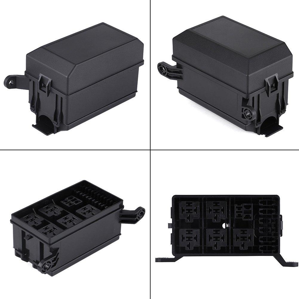 Soporte para Caja de Rel/és con Fusible de 6 V/ías con 41 Pasadores Met/álicos para Remolque de Cami/ón