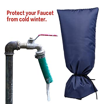 Insulated Faucet Sock: Waterproof Faucet Covers | Padded Outdoor ...