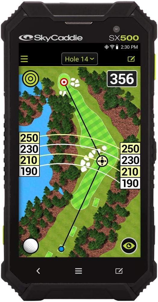 SkyCaddie SX500, Handheld Golf GPS, Black: Sports & Outdoors
