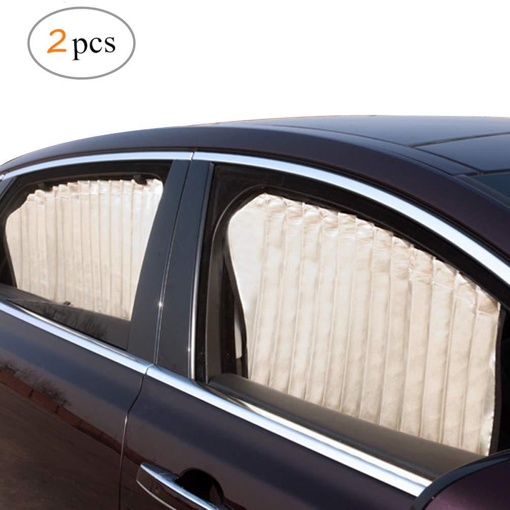 2 Pezzi Tendine Auto Magnetiche per Bloccare Raggi UV e Calore ZATOOTO Parasole de Auto