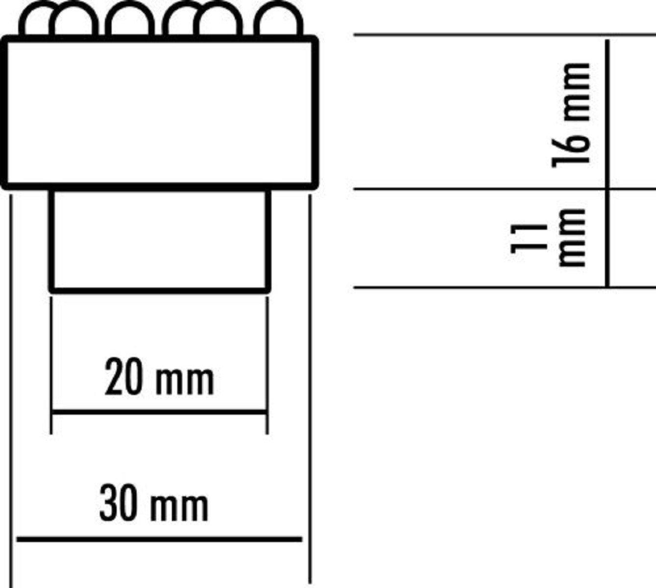 Quellsteinbeleuchtung Seliger/® Quellstar 600 LED Leuchteinheit warmwei/ß