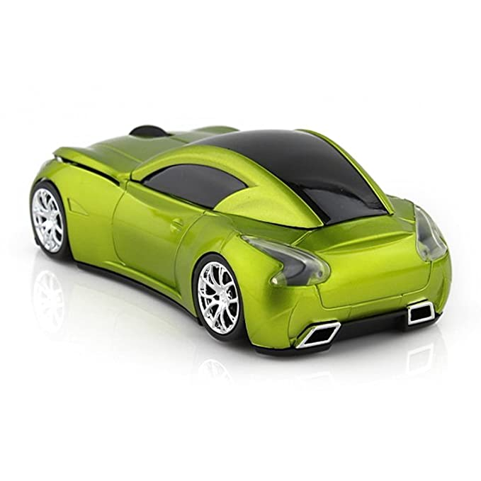 Amazon.com: MGbeauty Sports Car Mouse Wireless Mouse Computer Mice ...