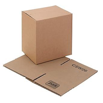 Swiftpak 229 x 152 x 152 mm – Caja de cartón de pared individual (25