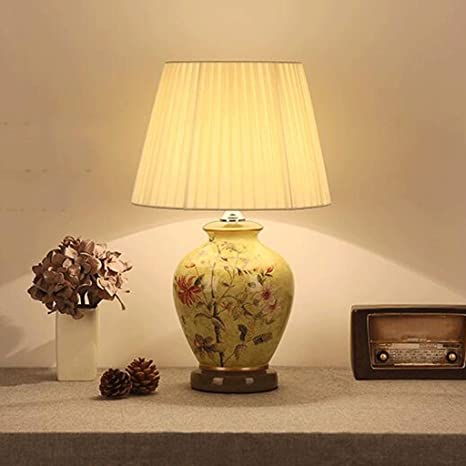 Edge To Table Lamp Large Oriental Ceramic Table Lamp Chinese Retro ...