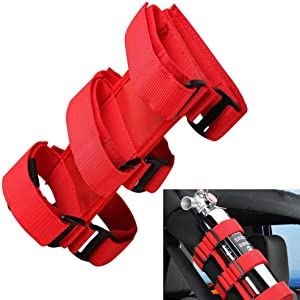 Basicon Adjustable Strap Fire Extinguisher 3 lb Fire Extinguisher Holder for Car SUV Truck UTV and Home Use